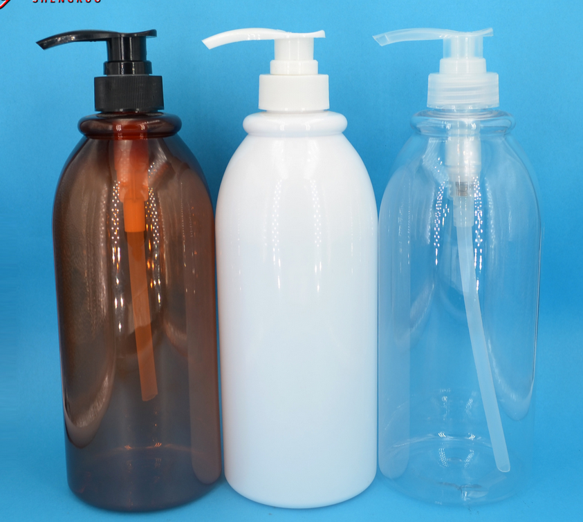 Cosmetic Lotion Pump Bottles