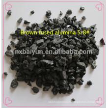Brown Fused Alumina / BFA / A / FBA Grit F36 para abrasivos