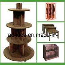 Garment Display Stand, MDF Display Stand, Display Stand (MDF-005)