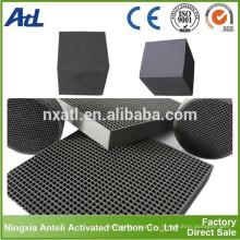 Панель Сота Активированный Воздушный Фильтр Углерода