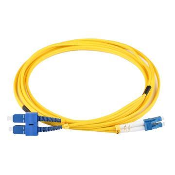 Cable de conexión dúplex SC a LC SM