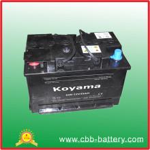 629-12V45ah Maintenance Free Car Battery