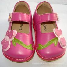Lovely Hot Pink Big Butterfly Kleinkind Quietschen Schuhe