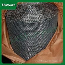 Squared wire mesh