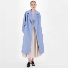 Maßgeschneiderte Damen Trenchcoat aus Wolle zum Binden