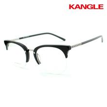 2017 Fashion glasses Man Design Eyewear Stainless Steel Optical Frame