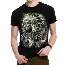 Heißes Verkaufs-Schwarzes 3D Drucken-T-Shirt