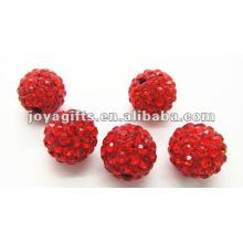 Bola cristalina de la arcilla del shamballa de 10m m, granos redondos del shamballa