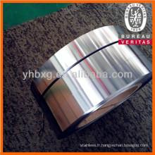 Bande en acier inoxydable 316L avec de bonne qualité (bobine de 316L acier inoxydable laminé à froid)
