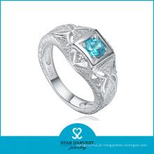 Anel de casamento do encanto com cristal para a venda (SH-R0155)