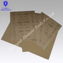230 * 280mm günstigen preis und gute qualität export in USA holz sandpapier