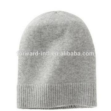 chapeau de cachemire tricoté de haute qualité