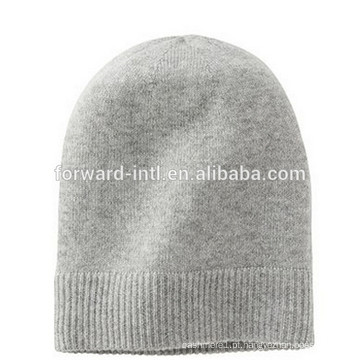 chapéu de caxemira de malha de alta qualidade