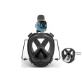 One Piece Full Face Snorkeling Mask