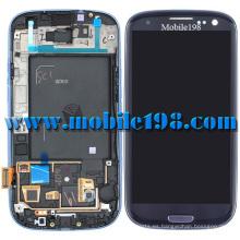 Piezas de teléfono celular LCD Digitizer Touch para Samsung Galaxy S3 I9300