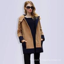 Großhandelsmantel-neuer Art-Mode-Frauen-Winter-Mantel