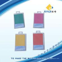 Mikrofaser-Reinigungstuch mit PVC-Verpackung