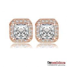 2colors Classical Square Stud Earring pour femme (ER0192)