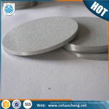 Micron malla de alambre sinterizado Micel 400 k500 sinterizado hastelloy tela de placa fluidizada de malla de alambre sinterizado