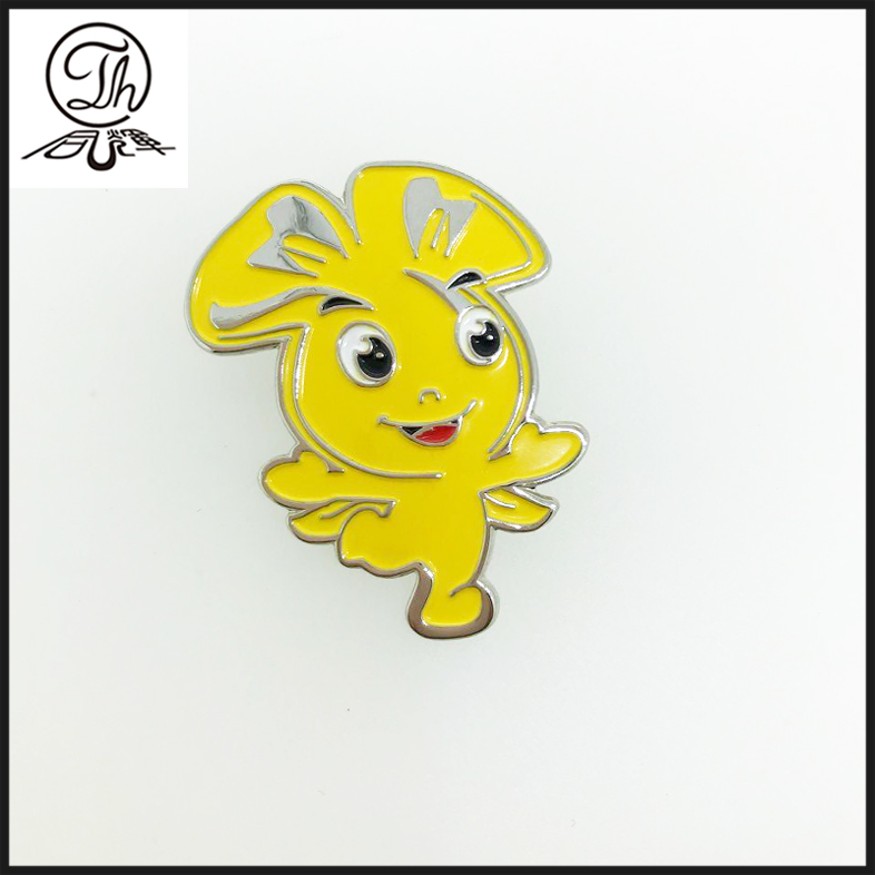 High quality cheap enamel epoxy badge pins