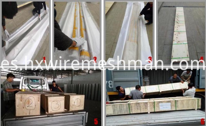 curtain packing