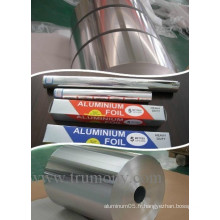 Luminous Roasting Kitchen Aluminium Foil 15mic Minimiser le nettoyage avec de l'alliage 1235