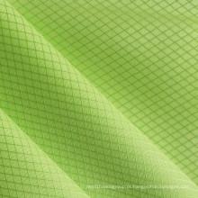 Oxford Redes de diamante tecido de poliéster brilhante PVC / PU