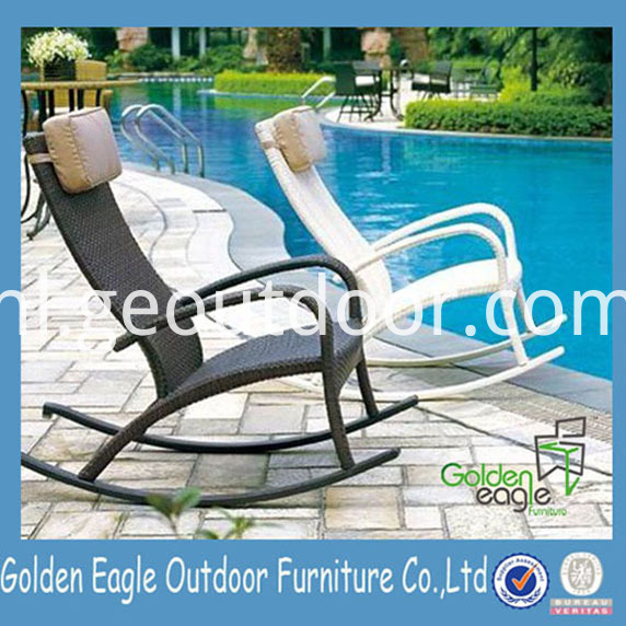 Wicker Aluminium Lounger Furniture