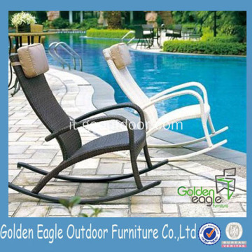 Outdoor Rattan Furniture Wicker Rocker