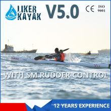 5.0m Sweden 1 Person Sit in Professional Pedal Kayak for Long Touring