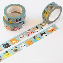 washi masking tape for mix,colorful paper tape,printing washi masking tape, craft washi