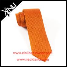 Corbata tejida del telar jacquar de seda hecho a mano perfecto del nudo del 100% Proveedor chino del lazo