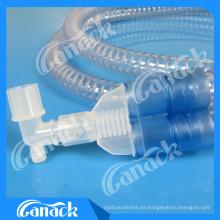 Circuito respiratorio respirable del respirador de Smoothbore EVA médico disponible
