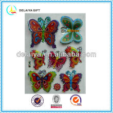 colorful 3D hologram stickers of butterfly for kids decoration