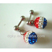 Charming Tragus Ear Piercing Barbells with