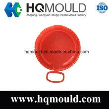 Tapa de plástico molde de inyección para botella o taza