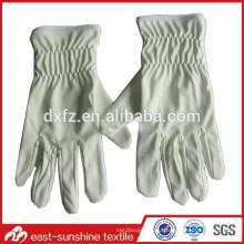 Изготовленные по индивидуальному заказу печатные микрофибры электроники ювелирные белые перчатки, перчатки из микроволокна перчатки, чистящие перчатки