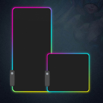 RGB gaming mouse pad light up