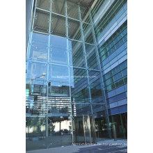 Stahl-Struktur-Punkt-Befestigungs-Glas-Vorhangfassade