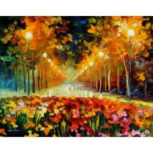 Modern Handmade Canvas Painting Desert Landscape Oil Painting for Home Decoration (KVL-003)