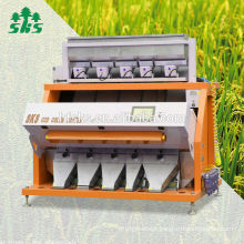 hot selling in south east Asia ccd camera rice color sorter machine