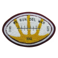 Rugby Design High Quality Felt Embroidery Patch Chenille