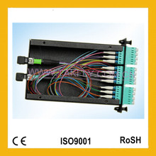 Hochwertige und wettbewerbsfähige Faseroptik 24 Kerne MPO Cassete