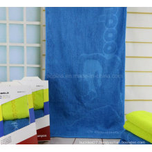 100% Combed Cotton Towel with Logo (AQ-029)