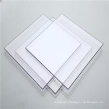 Folha sólida de plástico para telhado de clarabóia de corredor de shopping