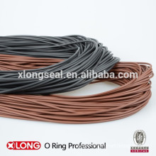 FKM O-ring cord, NBR O-ring cord, black o ring cord, brown o ring cord, red o ring cord,