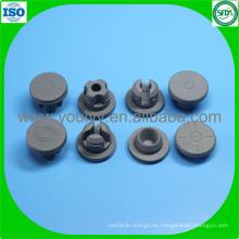Tapón de goma de 20 mm para vial de inyección