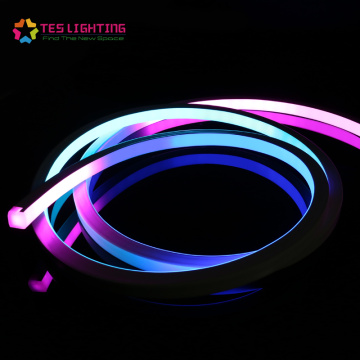 DMX Chasing Addressable RGB Neon Lighting Strips