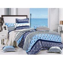 Alta qualidade 100% algodão impresso tecido de cama por atacado