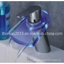 Fashionable Designed LED Waterfall Masin Mixer (Qh0816f)